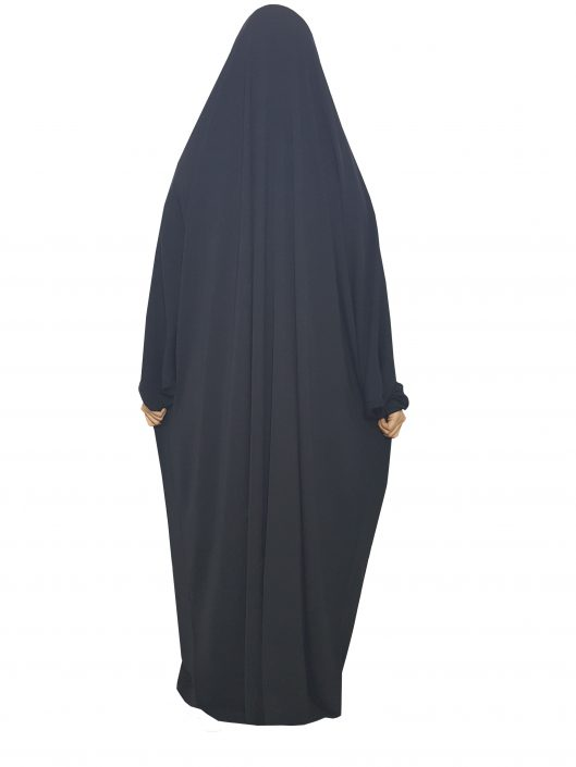 one-piece-jilbab-elastic sleeves