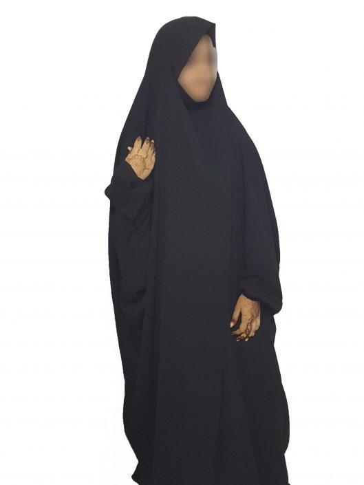 one-piece-gamis-elastic-sleeves